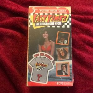 Fast Times at Ridgemont Movie T Shirt in VCR Case